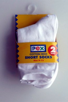 White Short Socks